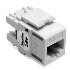 Gigamax 5e+ UTP QuickPort Component Rated Jack, MFR Leviton