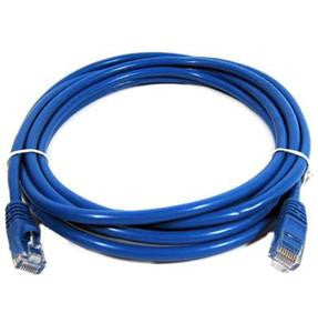 LEVITON, Category 6 Stranded, Unshielded Patch Cable W/ Snagless Boot, Length 3ft.