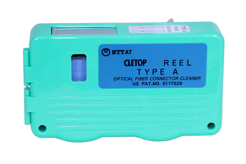 CLETOP Type A Reel Connector Cleaner - Blue Tape - SC, SC2, FC, ST, DIN, D4, E2000
