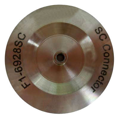 SC Connector Hand Polish Puck - Stainless Steel - Mooseline