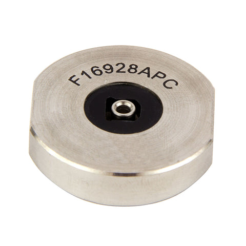 SC/APC Connector Hand Polish Puck - Stainless Steel