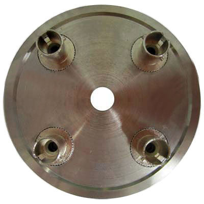 4 Position ST Connector Hand Polish Puck - Stainless Steel