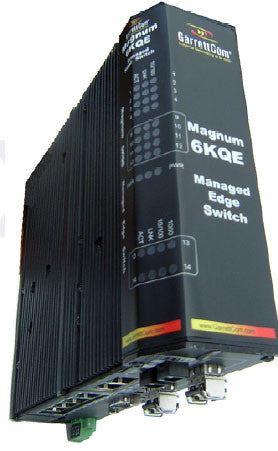 6KQE Module adds 1-10/100 RJ-45 ports and 3 SM 100 Mbps 20 km LC Fiber Port