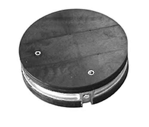 "ARMADILLO Drillable End Plate Kits with Ground and Air Valve, 8"" Dia 2 Section"