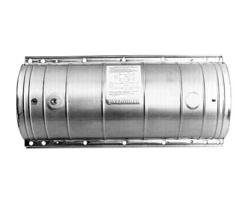 ARMADILLO Stainless Shell Kits with Air Flange and Ground Lead - 12.5 in. x 38 in.