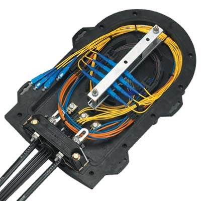 PLP Coyote Runt Closure with Cross Connect (Adapter Panels Sold Separately)