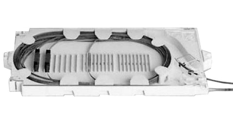 PLP 144 Count Mass Fusion Long Tray Splice Tray Kit for with Fixed Rigid Slots