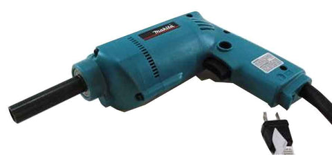 Electric drill with socket