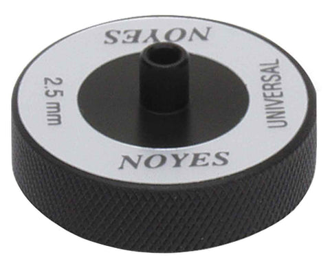 2.5 mm Universal adapter for Noyes (accepts FC, SC, and ST ferrules)