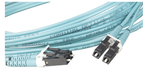 FC Connector Single mode Cer Epoxy OC 3.0MM JKT, Met HRDW,.1255ID JKT Retn Crimp Ring