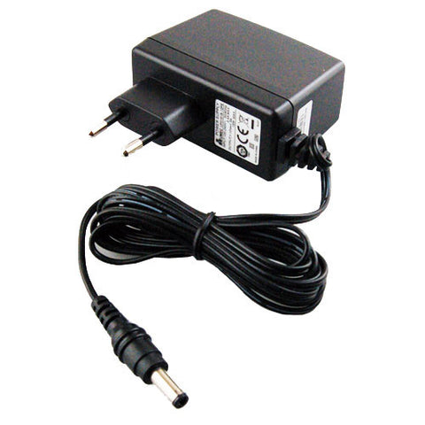 ACEU-12V AC 90-240V input power adapter for FRM220, FIB1 and FMC series converters, EU 220V round pin