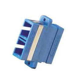 SC SINGLEMODE FIBER COUPLER, CERAMIC, COMPOSITE FLANGED, DUPLEX (WITH CERAMIC ALIGNMENT INSERT)