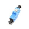 Fiber Optic Adapter, Full-Flange Mount, Metal Sleeve, Blue, SC, Single-mode (OS2) - FOSCO (Fiber Optics For Sale Co.) - 2