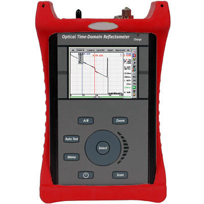 Advanced Mini-OTDR 850/1300nm with VFL + Optical Loss Test Set