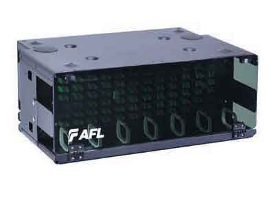 AFL Patch Panel, 4RU, Accepts up to (12) LGx118 Adapter Panels