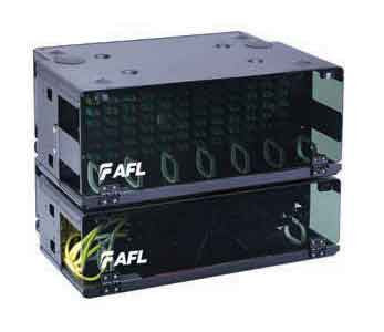 AFL Patch Panel & Splice Bay, 7RU, Accepts up to (12) LGX118 Adapter Panels and (3) trays