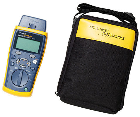 Fluke Networks CableIQ Residential Qualification Tester