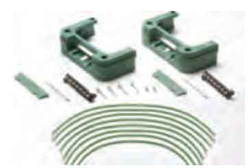 Double grounding spacer kit