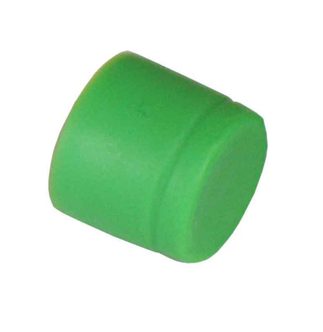 Rubber Dust Cap Covers for FC Mating Sleeve. 100 pcs/pack, Green Color