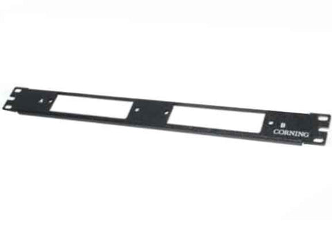 "12/24-F Rack-Mount Patch Panel 19"" 1U - ADD 2 CCH Panels/ Modules"