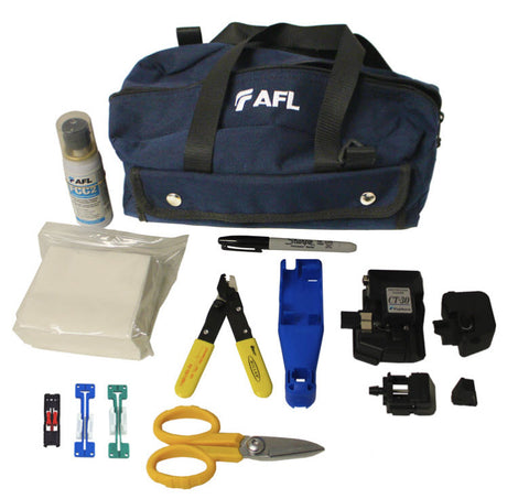 AFL FAST Connector Tool Kit with CT-30A High Precision Cleaver (Single Mode and Multimode)