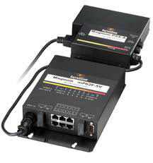 48 Volt Hardened Con. Switch w/One 100Base-FX SC/MM and Two 10/100 RJ-45 Ports