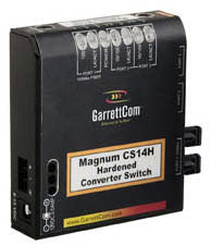 Converter Switch with One 100Base-FX ST/MM and Two 10/100 RJ-45 Ports