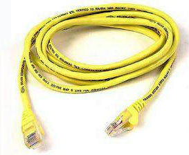 QUEST, Category 5e Stranded Unshielded Patch Cable W/ Snagless Boot, Length 3ft.
