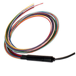 "3mm 12 Fiber 40"" Tubing Accepts 900µm Color Coded Break out Kit"