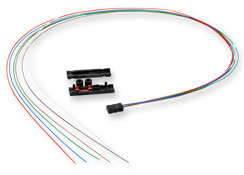 "Buffer Tube Fan-Out Kit - 6 Fibers, 36"" Tubing"