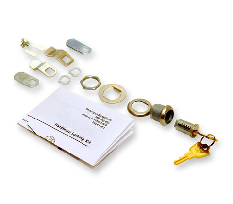 Corning Hardware Locking Kit, for Center Door only, One Lock and Two Keys