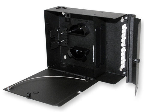 Corning WCH-02P 12 Fiber Wall Mountable Connector Housings - Accepts 2 CCH Connector Panels
