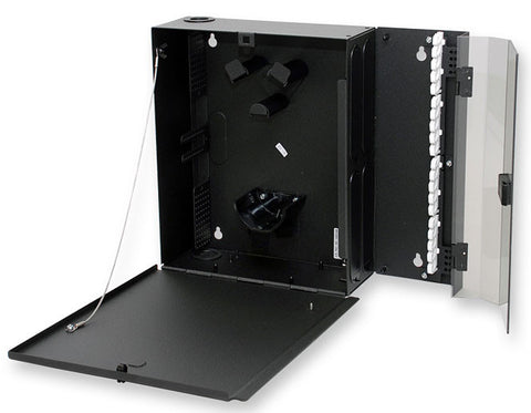 Corning WCH-04P 24 Fiber Wall Mountable Connector Housings - Accepts 4 CCH Connector Panels