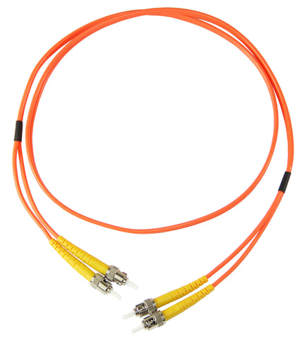 5m ST-ST Duplex 50/125µm multimode patch cord