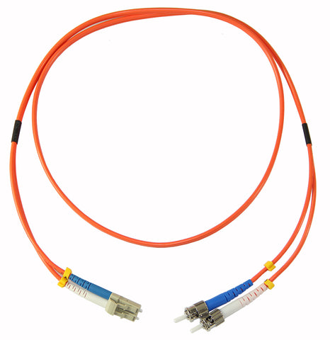 1m ST-LC duplex 62.5/125µm multimode patch cord