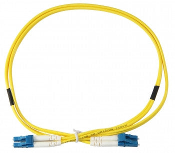 2M LC-LC Corning SMF-28 Ultra Single Mode, Duplex, 1.6 Jacket Patch Cable