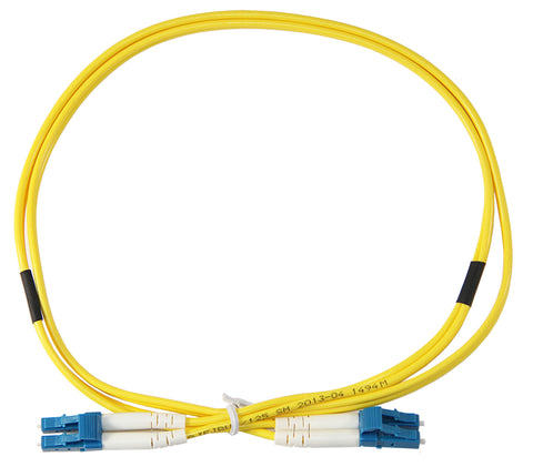 1m LC-LC Duplex 8.3/125µm/2mm single mode patch cord, UPC polish