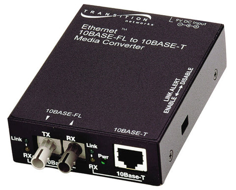 Fast Ethernet Standlone Coverters, 100Base-TX, RJ45 to 100Base-Fx, 1300nm, multimode, SC, 2 km