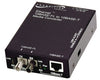 Ethernet Stand-Alone Media Converters, 10Base-T RJ-45 TO 10 Base-FL 850nm Multimode ST 2 KM