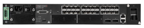 ECS4660-28F Full Gigabit Ethernet 24 SFP, 2 10G XFP ports, 2 10G expansion slots, Layer 3 managed switch, rack 19""