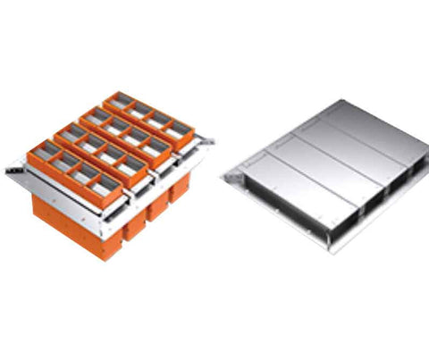 EZ-Path Series 44+ fire-rated multi-bank floor grid kit
