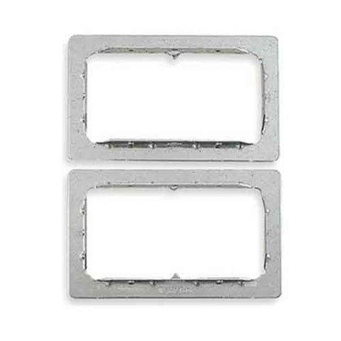 EZ-Path Series 33 double wall plates and labels, one pair (2)