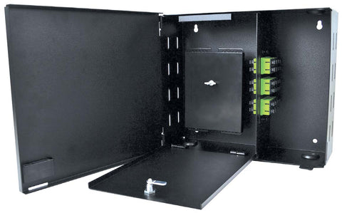 2 Adapter Plate Economy Wall Mount Enclosure (Unloaded)