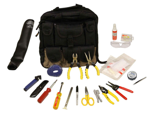 Backpack Basic Fiber Optic Tool Kit