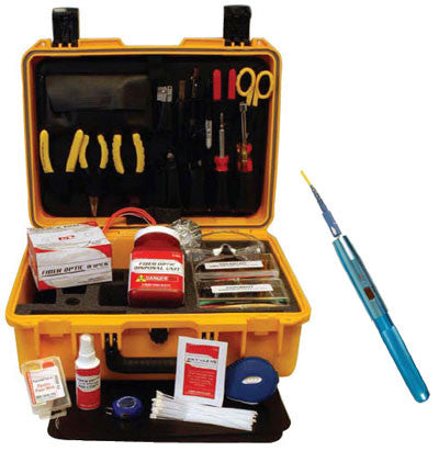 FOFS Basic Fiber Optic Tool Kit with Pocket Visual Fault Locator (PN F1-9000)
