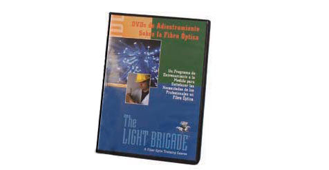 Fiber Optic Training DVD Set-Spanish