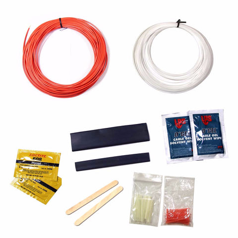 Universal Breakout Kit - Orange Furcation Tube for Multimode Fibers