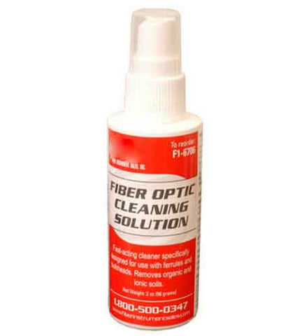Fiber Optic Cleaning Solution