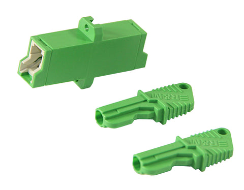 E2000/APC to E2000/APC Singlemode Adapter Ceramic Sleeve