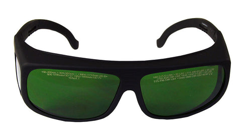 Laser Safety Glasses Medium Style Adjustable Frames